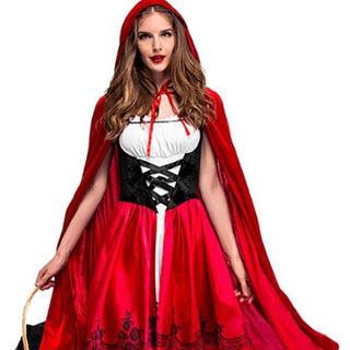 ハロウィンに‼️赤ずきんコスプレセット‼️(衣装)