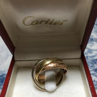 カルティエ(Cartier)の☆Cartierカルティエ 3連 トリニティリング 18金☆(リング(指輪))