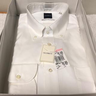 ソゴウ(そごう)のOLDBOY ドレスシャツ ワイシャツ ボタンダウン ポケット付 40-84 綿(シャツ)