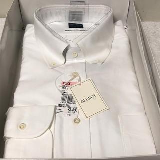 ソゴウ(そごう)のOLDBOY ドレスシャツ ワイシャツ ボタンダウン ポケット付 40-80 綿(シャツ)