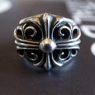 クロムハーツ(Chrome Hearts)のChrome hearts クロムハーツキーパーリング サイズ 約18 JZ11(リング(指輪))