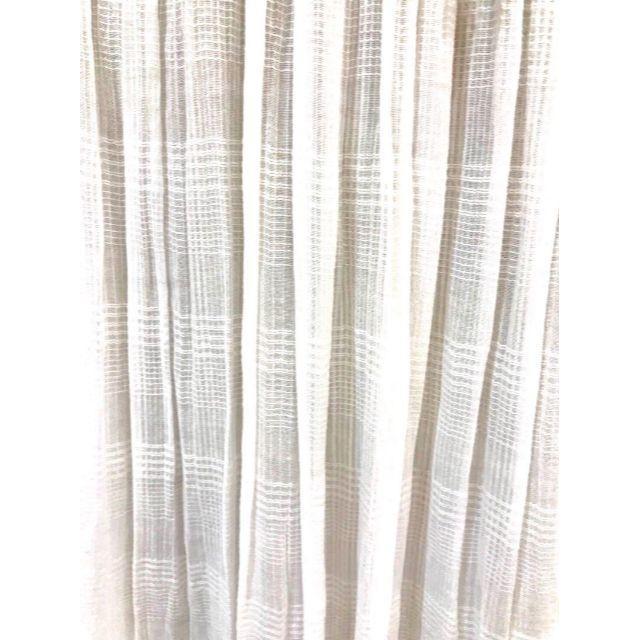cloudnine 綿ドビーチェックスカート NNR6814 レディースのスカート(ロングスカート)の商品写真