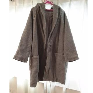 シマムラ(しまむら)のグレー コート(ロングコート)