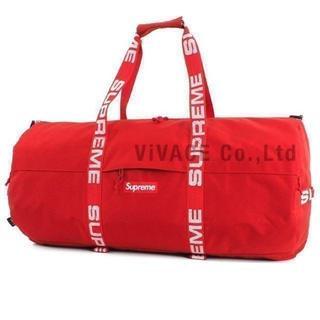 シュプリーム(Supreme)のSupreme Large Duffle Bag 赤 大(ドラムバッグ)