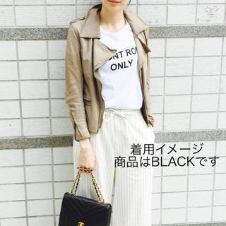 シシ(sisi)のSISII シシ ライダースジャケット BLACK XXSサイズ(ライダースジャケット)