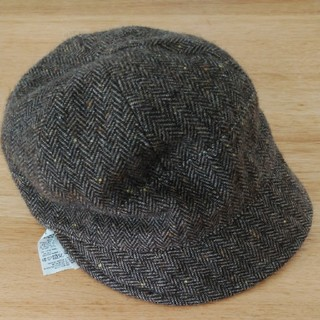 ムジルシリョウヒン(MUJI (無印良品))の無印ウール混キャスケット帽(キャスケット)