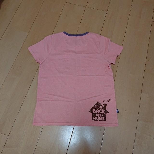 rough(ラフ)のrough半袖TシャツL レディースのトップス(Tシャツ(半袖/袖なし))の商品写真