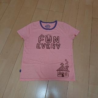 ラフ(rough)のrough半袖TシャツL(Tシャツ(半袖/袖なし))