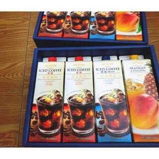 キーコーヒー(KEY COFFEE)のキーコーヒー リキッドコーヒー&ドリンクギフト ×2(コーヒー)