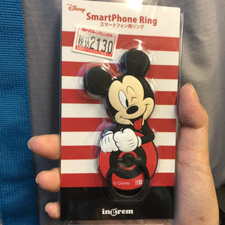 ミッキーマウス(ミッキーマウス)のミッキースマホリング(スマホストラップ/チャーム)