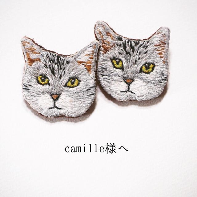 camille♡様 専用ページ ハンドメイドのアクセサリー(コサージュ/ブローチ)の商品写真