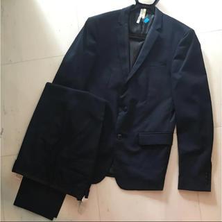 ザラ(ZARA)のZARA スーツ フォーマル  L ネイビーブルー(セットアップ)