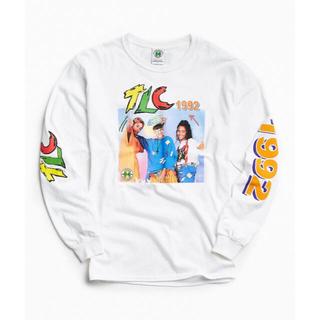 クロスカラーズ(CROSS COLOURS)のLサイズ CROSS COLOURS TLC 1992 ロングスリーブTEE(Tシャツ/カットソー(七分/長袖))