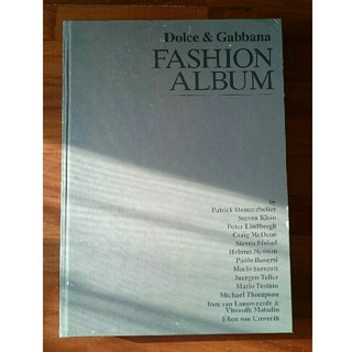 洋書Dolce & Gabbana FASHION ALBUM 大型本