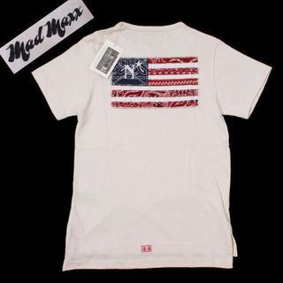 ネクサスセブン(NEXUSVII)の新品 NEXUSVII mad maxx FAbRICES バック星条旗Tシャツ(Tシャツ/カットソー(半袖/袖なし))