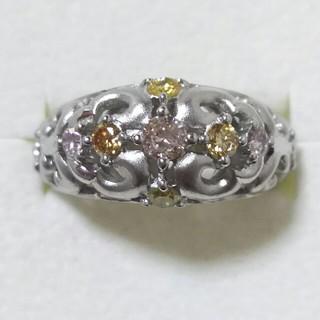 K18WG ダイヤ リング(リング(指輪))