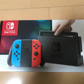 ニンテンドースイッチ(Nintendo Switch)の新品未開封 ニンテンドー スイッチ ネオン(家庭用ゲーム機本体)