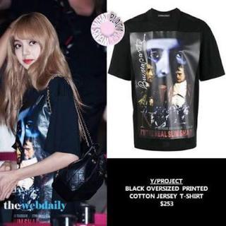 バレンシアガ(Balenciaga)の専用 BLACK PINK 着用モデル Y/Project XXS プリントT(Tシャツ/カットソー(半袖/袖なし))