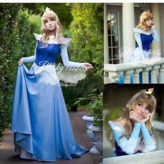 ディズニー(Disney)のDハロ仮装 オーロラ姫ドレス(衣装)