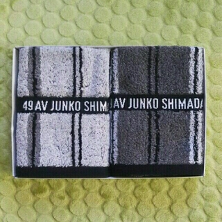 ジュンコシマダ(JUNKO SHIMADA)のウォッシュタオル2枚セット(タオル/バス用品)