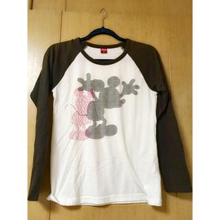 ディズニー(Disney)のミッキー Tシャツ(*´˘`*)(Tシャツ(長袖/七分))