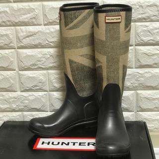 ハンター(HUNTER)のHUNTER ハンター ユニオンジャック レインブーツ UK5(レインブーツ/長靴)