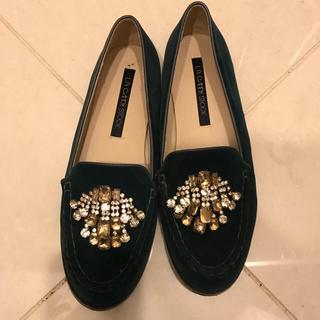 リリーブラウン(Lily Brown)のリリーブラウン ベロアパンプス(ローファー/革靴)