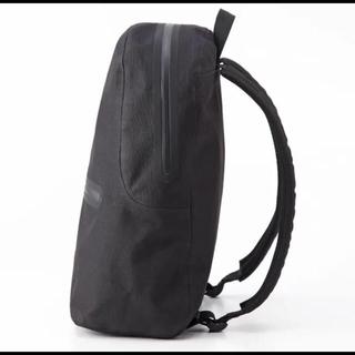 ムジルシリョウヒン(MUJI (無印良品))の無印良品 新作 リップストップリュック 黒(バッグパック/リュック)