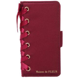 メゾンドフルール(Maison de FLEUR)のiphoneケース(モバイルケース/カバー)