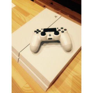 PS4 500GB CUH-1100A ホワイト ディスク読み込み確認済(家庭用ゲーム機本体)