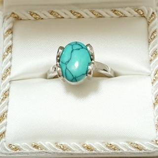 新品未使用 美品 リング 指輪 オシャレなデザイン 女性用 サイズ21号 61(リング(指輪))
