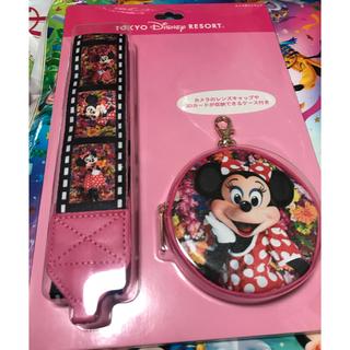 ディズニー(Disney)のディズニーランド 蜷川実花 ディズニ実写グッズ ミニー カメラストラップ(その他)