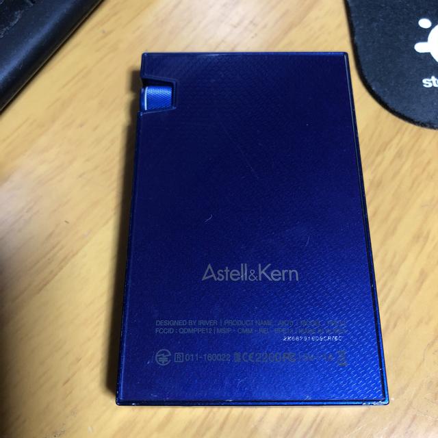 iriver(アイリバー)のAstell&Kern AK70 True Blue スマホ/家電/カメラのオーディオ機器(ポータブルプレーヤー)の商品写真