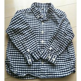 無印 ネルシャツ size100