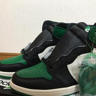 ナイキ(NIKE)のair Jordan 1 pine green(スニーカー)