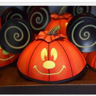 ディズニー(Disney)のディズニー イヤーハット かぼちゃ ハロウィン(その他)