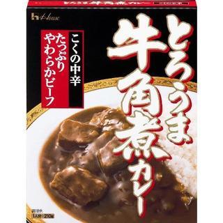 とろうま牛角煮カレー(こくの中辛) 210g×10個セット(レトルト食品)