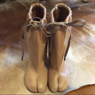 マルタンマルジェラ(Maison Martin Margiela)のメゾンマルジェラ  足袋ブーツ 新品未使用 箱付き(ブーツ)