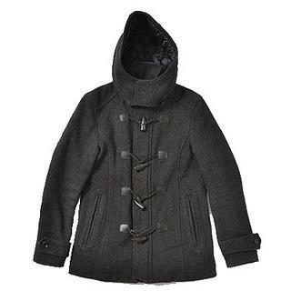 ハムネット(HAMNETT)の◆HAMNETT◆sizeS Short Duffle coat black(ダッフルコート)