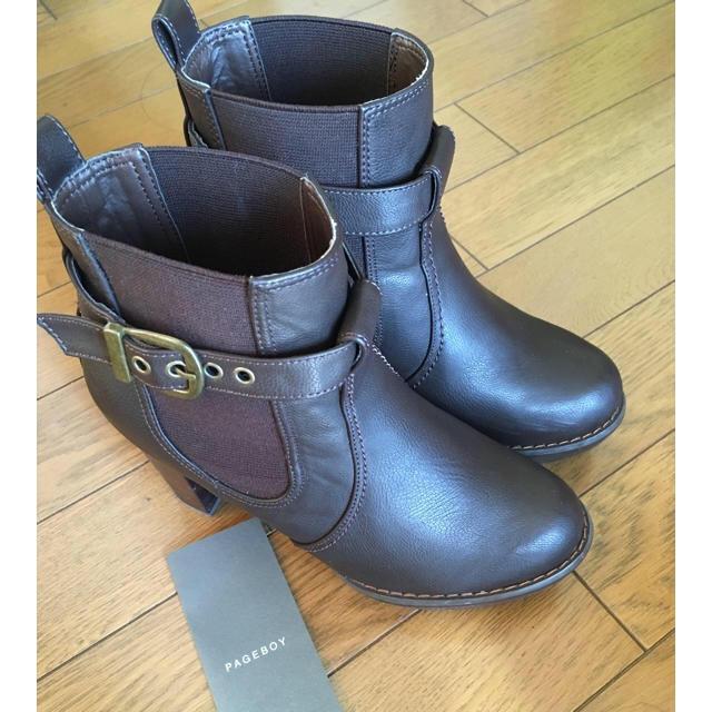 PAGEBOY(ページボーイ)のショートブーツ レディースの靴/シューズ(ブーツ)の商品写真