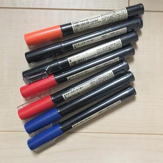 ムジルシリョウヒン(MUJI (無印良品))の無印良品 ポスターカラーマーカー 未使用7本(ペン/マーカー)