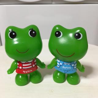 新品☆ケロちゃんコロちゃん 人形 フィギュア(ノベルティグッズ)