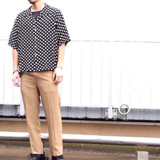 ソーイ(SOE)のsoe ドット shirts シャツ S レーヨン(シャツ)