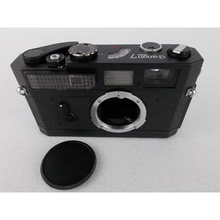 キヤノン(Canon)のCanon 7 レンジファインダー black 再塗装品 ボディのみ #8018(フィルムカメラ)