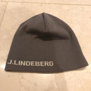 ジェイリンドバーグ(J.LINDEBERG)のJLINDBERG ニット帽(ウエア)