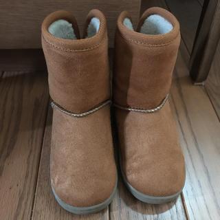 ムジルシリョウヒン(MUJI (無印良品))の無印 ムートンブーツ 14〜15センチ(ブーツ)