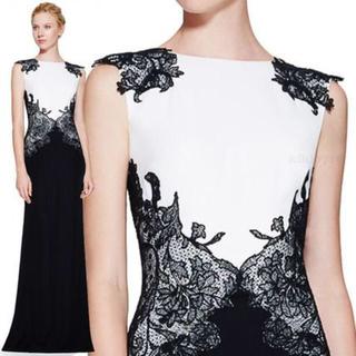 タダシショウジ(TADASHI SHOJI)の新品 大きいサイズ Tadashi Shoji ロング イブニングドレス(ロングワンピース/マキシワンピース)