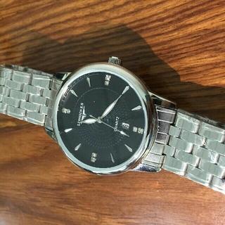 ロンジン(LONGINES)の人気★LONGINES/ロンジン   ブラック メンズ腕時計(腕時計(アナログ))