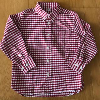 MUJI (無印良品) - ☆無印赤チェックシャツ☆