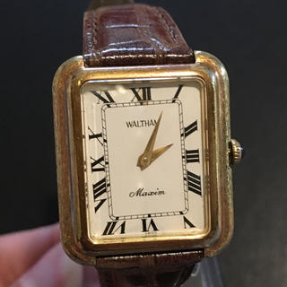 ウォルサム(Waltham)のWaltham 時計 / 手巻き式 ( 動品 )(腕時計)